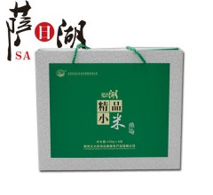 萨日湖 绿色精品小米礼盒 410g*8