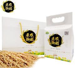 禾农御稻东北大米正宗五常大米稻花香屋顶礼盒 5kg/箱