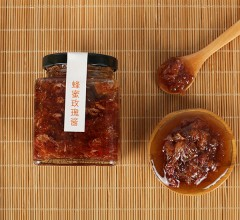 柒然 蜂蜜玫瑰酱 240g