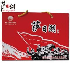 萨日湖 红色经典小米礼盒430g*8