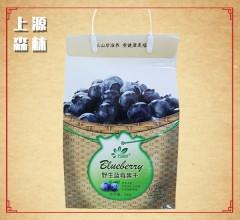 野生蓝莓果干 蓝梅干果黑龙江伊春特产  办公室休闲零食蜜饯  不添加人工色素 防腐剂 500g