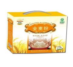 鸿兴食佳面粉全麦粉礼盒5Kg
