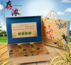 草碳土地种植 五常稻花香2号 真空米砖 5kg