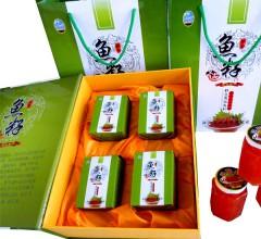 大马哈鱼籽精装二级  125gx4盒