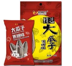 招财鸟 休闲零食炒货精选大瓜子焦糖味