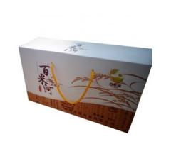 东北大米 弱碱米 百米河 每小盒1公斤,共5小盒