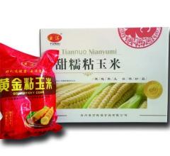黄金粘玉米(白),每箱8袋2穗