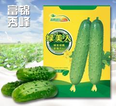 绿美人 绿皮绿瓤  黄瓜种子
