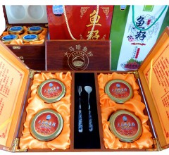 大马哈鱼籽精装一级(木盒) 125gx4/盒