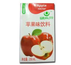 绿乐尔●苹果味饮料  250ml