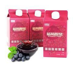 东北蓝莓原浆 95%纯果浆 500g