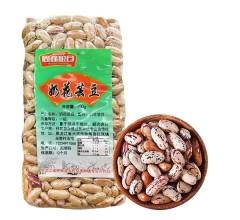 永胜豆类东北五谷杂粮奶花芸豆 400g