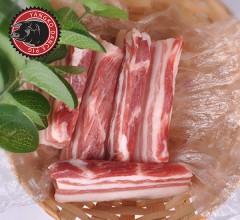 森林秧歌猪东北散养黑猪肉下五花  0.5kg/袋
