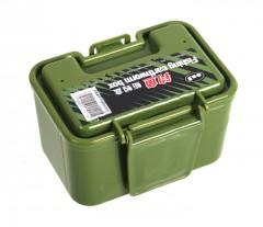 红健绿色蚯蚓盒 活饵盒 诱饵盒 小巧精制