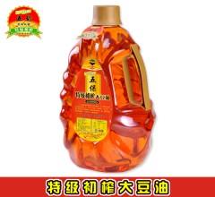 东北大豆油 五保  特级初榨大豆油 5L