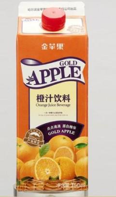 金苹果橙汁饮料