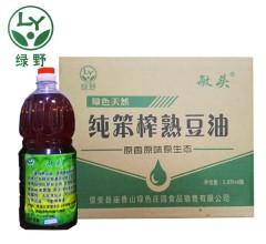笨榨熟豆油 1.8Lx6瓶