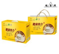 鹤泉绿 优质面粉健康组合面粉5kg(麸星、特精、饺子、全麦、颗粒各1kg)