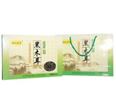 桃山黑丰黑木耳礼盒  东北特产 200gx2盒