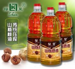 绿恳 山核桃油 1.8L 食用油