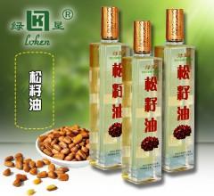 绿恳 红松籽油 250ml 食用油