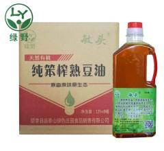 纯笨榨熟豆油 1Lx8瓶 大豆油