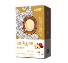 凯滋红枣燕麦豆浆225g