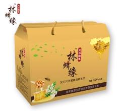 杂花蜜 500gx4瓶 黑龙江方正林区 纯正蜂蜜