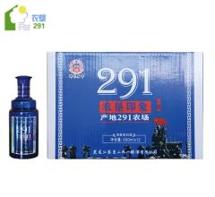 瑞谷嘉年 农垦印象 清香型白酒 42°vol  500ml*12瓶/箱