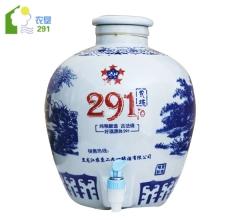 农垦印象 二九一酒 青花瓷 清香型白酒 53°vol 10L