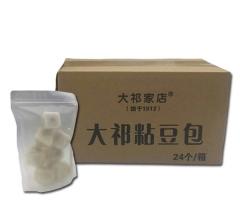 东北特产粘豆包(黄)8个*3袋/箱
