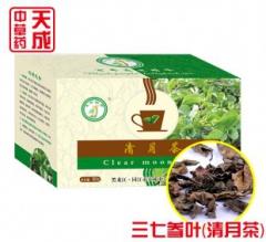 天成 三七参叶茶 60g 降三高、胃溃疡、增强免疫力、抗衰老