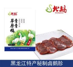 东北特产北鹅熟食无菌真空包装卤鹅胗 170g