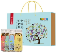 全谷预熟杂粮颗粒 米伴侣礼盒(内含四瓶)425*4