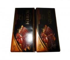 欧洲进口ROSHEN古典黑巧克力 可可70% 俄罗斯巧克力