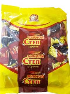 俄罗斯进口糖果 果仁巧克力花生夹心糖