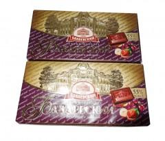 Екстрачорний шоколад:俄罗斯一级黑巧克力