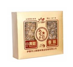 东北野生山产品礼盒(黄蘑+香菇)真空 350g/盒