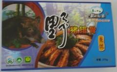 野猪排骨  375克/盒/袋  47.5元