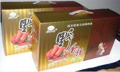 野猪肉松仁/核桃仁香肠礼品箱  4斤装(速冻/鲜) 260元