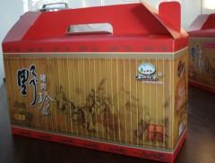 野猪肉礼品箱  每箱8小盒(每小盒375克)380元