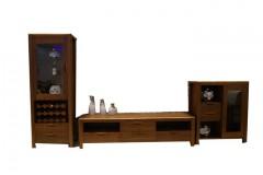 家用厅柜  简约时尚 中式纯实木家具 高端大气  古朴典雅 木质家具