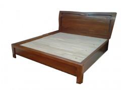 家用床 舒适安全  纯实木制造双人床  简约大方  时尚现代家具