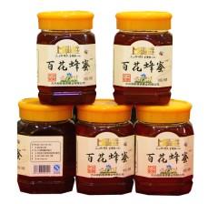 百花蜂蜜   两瓶包邮