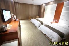 今日阳光宾馆 家庭房(2张双人床) 门市价268元 仅188元即可入住!