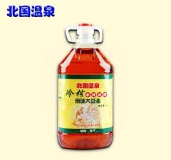 北国温泉非转基因大豆油 原味大豆油 冷榨大豆油   5L