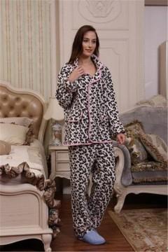女款摇粒绒睡衣PPM1001 定做:起订量800件