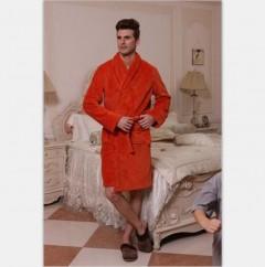 男款珊瑚绒浴袍CBM1001  定做:起订量800件