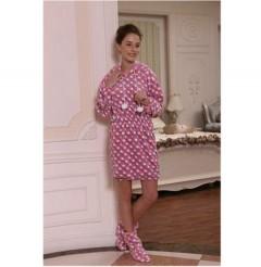 女款法兰绒睡裙FPW1000 定做:起订量800件