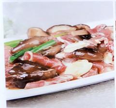 香菇拌肉 20元/盘